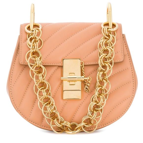 5d89289a NEW Chloe mini Drew Bijou shoulder bag!